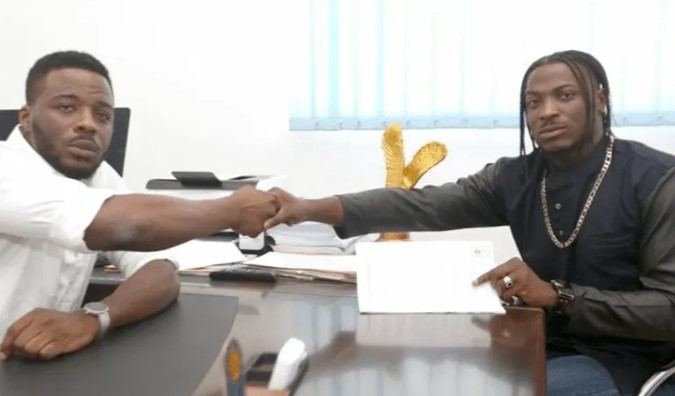 You spilled fallacy on National TV, you're an ingrate – Peruzzi's former boss, Patrick blasts him over recent interview (Video)