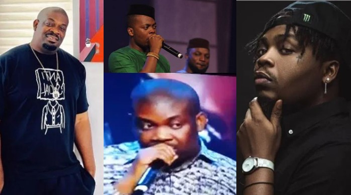 I regret quarrelling with Olamide at the Headies 2015 – Don Jazzy (Video)