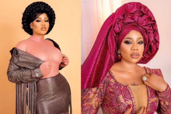 Toyin Lawani mourns death of her father