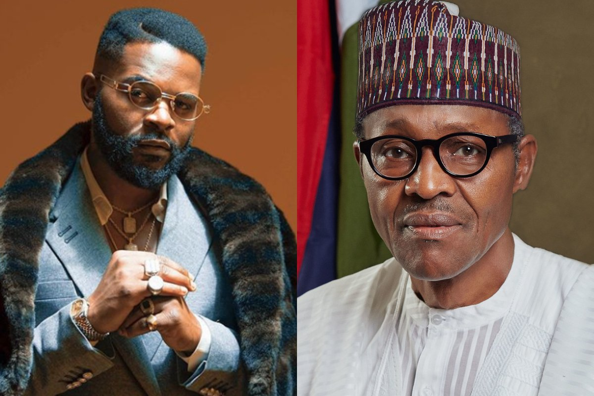 Falz slams Buhari over threat to deal with Nigerians 'destroying' his govt