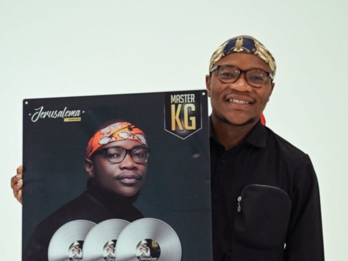 Master KG Receives 3x Platinum Certification Plaque in Italy for 'Jerusalema'