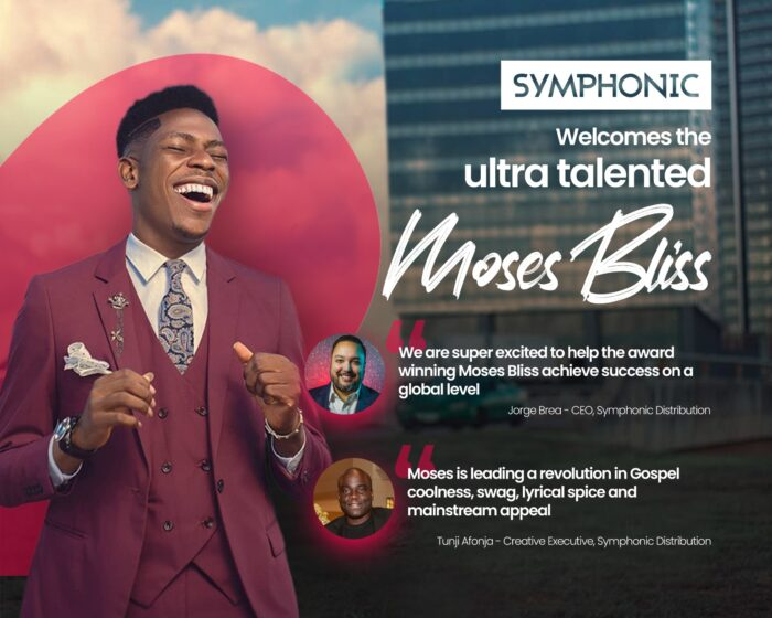 Symphonic Signs Moses Bliss in Global Distribution Deal