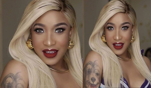 'What the Enemy Planned Is Blocked By the Almighty' – Tonto Dikeh Hits Back At Ex-Lover