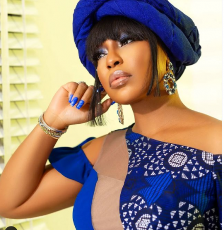 Rita Dominic Shares Stunning Pictures of her Late Mother 20yrs After Her Demise