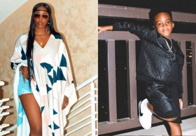 """""""I am famous because I am your son"""" – Tiwa Savage's son, Jamil eulogizes Her (Video)"""