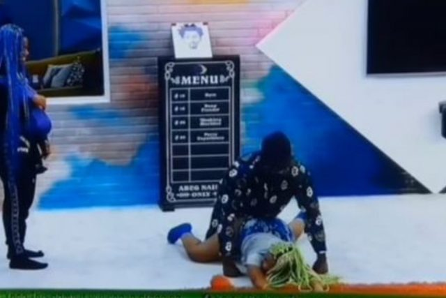 """""""Emmanuel Know How To N*ack""""– Reactions As Housemates Displays Favorite N*Ck Position (VIDEO)"""