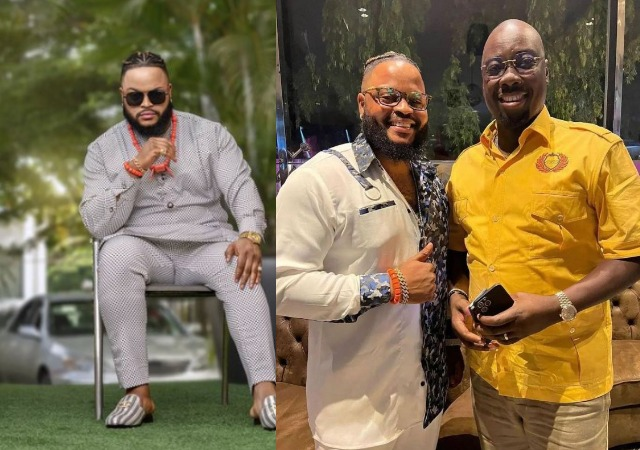 BBNaija: All That Happened during Whitemoney and Angel's Visit to Obi Cubana's Club