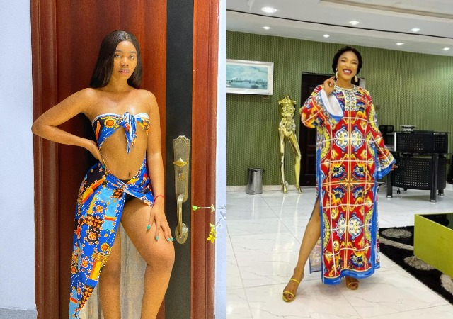 """""""Twerk To Court Kiddo""""- Tonto Dikeh To Janemena After She Dared Her To Release the S3x Tapes"""