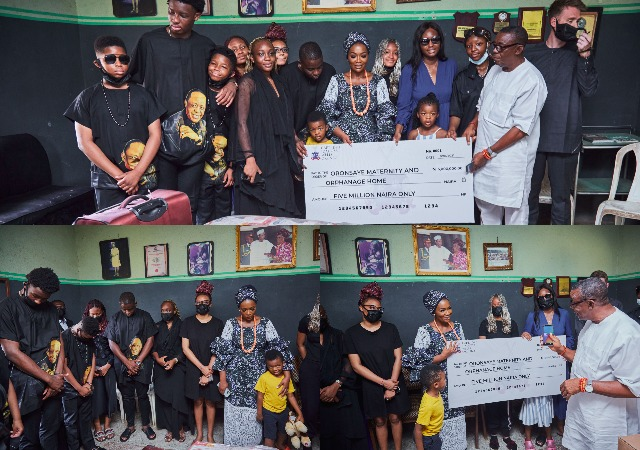 Late Captain Hosa's Children Pay A Courtesy Visit To Their Father's Birthplace