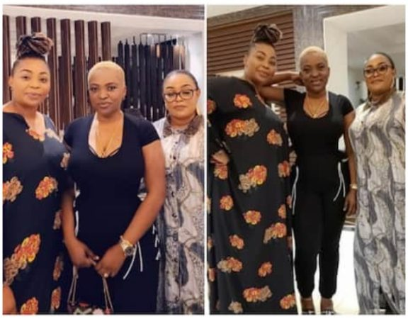 2baba's Close Friends Link up with Pero in Abuja, Endorses Her First Lady
