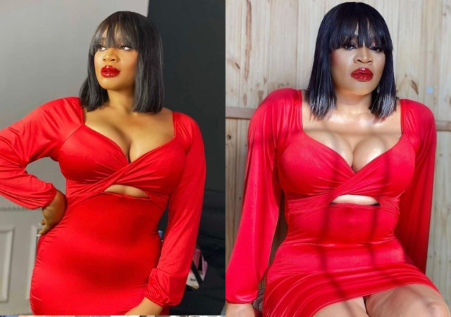 Actress Uche Ogbodo weeps uncontrollable over What a Fan Did to her